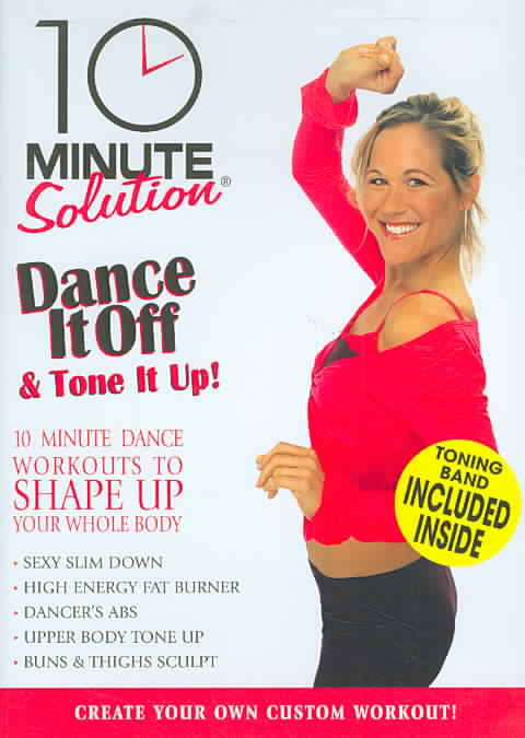 10 MIN SOLUTION:DANCE IT OFF & TONE I (DVD)